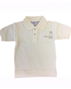 SONDERPREIS  40% - Kinder Poloshirt Kurzarm beige 92-164