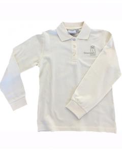SONDERPREIS 40% Kinder Poloshirt Langarm beige 92-164